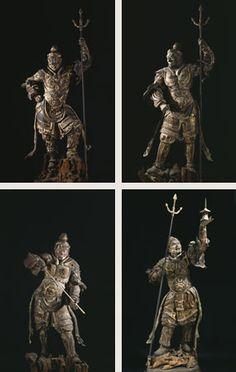 木造四天王立像(もくぞうしてんのうりゅうぞう) | 「国宝」「重要文化財」 | 文化財 | 法相宗大本山 興福寺