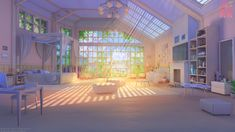 anime backgrounds episode deviantart nikki interactive extended wallpapers scenery places gamer artstation arsenixc casa animation rooms interior shining aesthetic paper
