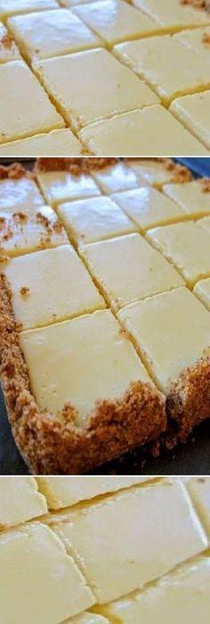 Cuadros cremosos de limón Mini Cakes, Cupcake Cakes, No Bake Desserts, Delicious Desserts, Mexican Food Recipes, Sweet Recipes, Baking Recipes, Cake Recipes, Pie Cake