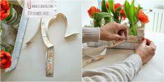 Deco recycle glazen potjes en fruitkist DIY :: ElsaRblog . http://diycraft.net84.net/ #crafts,  #diy  #beautiful -  #home  leuk,  #flowers