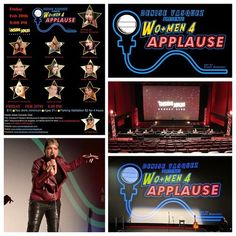 TONIGHT! Denise Vasquez Presents WO+MEN 4 APPLAUSE™ Pre-Oscar Variety Show @Inside Jokes Comedy Club in Hollywood