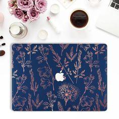Mac Laptop Case, Macbook Decal, Macbook Pro Case, Laptop Covers, Ipad Case, Macbook Desktop, Rose Gold Macbook Air, Cute Rose, Pink Plant