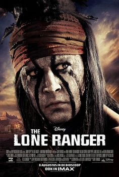 LONE RANGER Johnny Depp