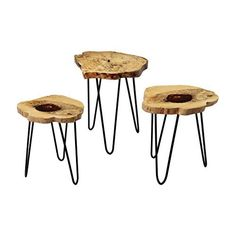 "Dimond Home 162-002 Teak Nesting Tables, 19"" x 19"" x 24"" ... https://www.amazon.com/dp/B00SYVBCIQ/ref=cm_sw_r_pi_dp_x_jT46xbZ5ZQTDX"
