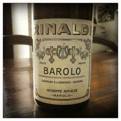 Giuseppe Rinaldi, Barolo  I suggest Brunate Le Coste 2004.