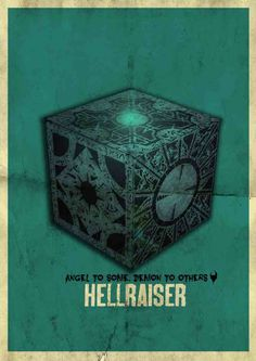 retro hellraiser poster by killerincdesigns on DeviantArt Horror Movie Posters, Movie Poster Art, Horror Films, Horror Art, Film Posters, Real Horror, Child's Play Movie, Horror Monsters, Movie Covers
