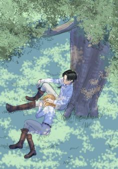 Levi and Petra I will always ship them
