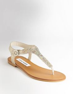 STEVE MADDEN Beaminng Studded Leather Sandals