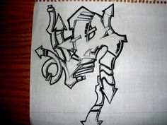 Graffiti Alphabet, Cool Art, Lettering, Character, Battle, Decor, Black Art, Alphabet Letters, Decoration