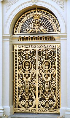 Pin By Adrianna Spence On Doors Doors Unique Doors Gold Door Cool Doors, The Doors, Unique Doors, Entrance Doors, Doorway, Windows And Doors, Grand Entrance, Front Doors, Knobs And Knockers