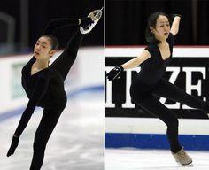 Yuna Kim and Mao Asada