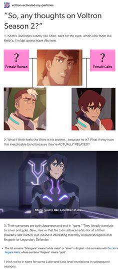 as a klance shipper I AM HARDCORE FOR THIS