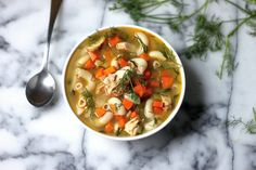 Our Favorite Chicken Noodle Soup. Like... Ever.