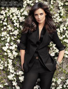 Katie Holmes for Anne Taylor--love!