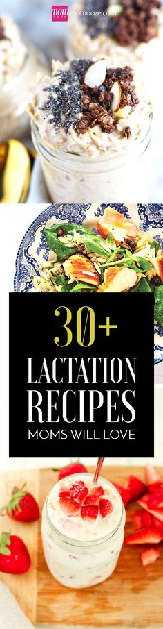 30+ Lactation Recipes Breastfeeding Moms will Love