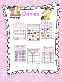 Valentine's Math Games