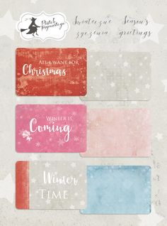 Winter Is Coming, Winter Time, Say Hello, Scrapbooking, Seasons, Creative, Christmas, Collection, Xmas