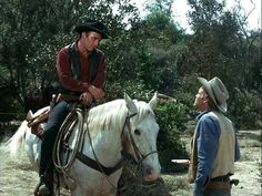 The Virginian and Trampas Old Western Actors, Western Film, Western Movies, Clint Walker Actor, Shiloh Ranch, Doug Mcclure, James Drury, The Virginian, Tv Westerns