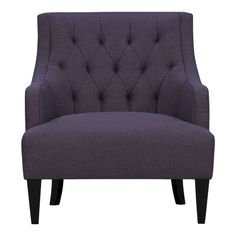 Purple chair from Crate and Barrel. Love it.