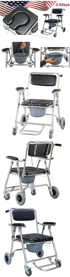 The Versatile Everest And Jennings Folding Rehab Shower Commode Chair Has Ear