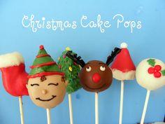 Christmas Cake Pops    Darling Doodles <3