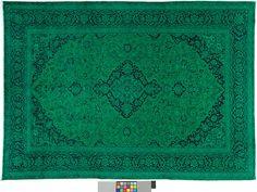 Blau (-er) Teppich By Kiskan Process Hamburg, Orientteppich ... Wohnzimmer Modern Vintage