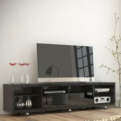 Manhattan Comfort Cabrini TV Stand & Reviews | Wayfair