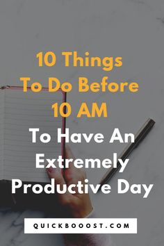 Supercharge your days by doing these things each morning. Use these productivity tips, tactics, and strategies to set yourself up for an extremely productive day. Time Management Activities, Time Management Printable, Time Management Quotes, Management Books, Time Management Skills, Math Activities, Productive Things To Do, Things To Do At Home, Productive Day