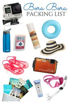 What to Pack for Bora Bora and Moorea   www.apassionandapassport.com