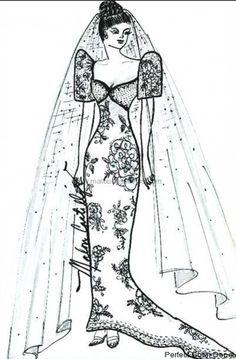 Filipiniana inspired butterfly sleeves wedding dress sketch. Filipiniana Wedding Theme, Filipiniana Dress, Wedding Gowns, Our Wedding, Dress Illustration, Illustration Sketches, Wedding Dress Sketches, Maui Weddings, Wedding Dress Sleeves