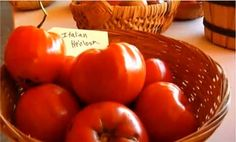 Watch Heirloom Tomatoes in the Better Homes and Gardens Video
