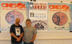 Festival Director Henry Serrato & Director Jerry Alden Deal — in Harlingen, Texas.
