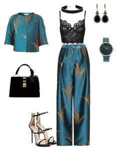 """Tribeca!"" by tweelutay on Polyvore featuring Dries Van Noten, Giuseppe Zanotti, Miu Miu, Nixon and Givenchy"