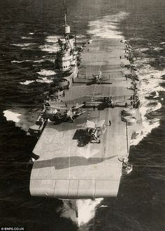 Swordfish on the HMS Victorious More