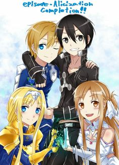 Sword Art Online: Alicization Archives - Taylor Hallo - Taylor Swift taking show anime and movies Sao Anime, Manga Anime, Manga Girl, Anime Girls, Kunst Online, Online Art, Eugeo Sword Art Online, Sword Art Online Season, Tous Les Anime