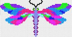 Dragon Fly Peyote Pattern Photo: This Photo was uploaded by Mortira. Find other Dragon Fly Peyote Pattern pictures and photos or upload your own with Ph...