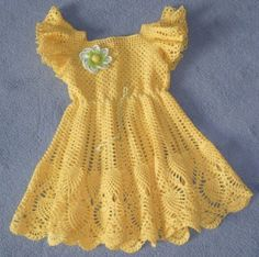 |How to crochet|: Crochet Patterns| for free |crochet baby dress| 14...
