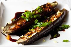 Japanese Style Grilled Eggplant by foodrepublik #Eggplant #Japanese #foodrepublik