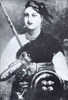 Rani Lakshmibai:  Best known as the Indian counterpart of Joan of Arc, Rani Lakshmibai was the queen of the princely state of Jhansi who retaliated the brutal and power-hungry regime of British East India Company with never-say-die attitude. This badass female warrior played a significant role during the Indian Rebellion of 1857 and died a martyr after fighting courageously.