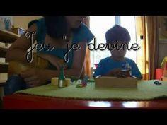 Aux Couleurs de Montessori : le jeu je devine