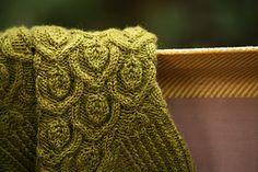 Ravelry: Ivy Trellis Socks pattern by Alana Dakos