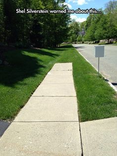 Where The Sidewalk Ends - Teacher Humor