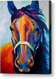 diane whitehead canvas prints | ... Painting Canvas Prints - One Of The Boys Canvas Print by Marion Rose