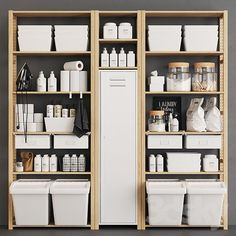 Next Previous models: Bathroom accessories – Ivar Monotone Pantry Source by Next Previous pantry organization ideas - simple modern kitchen…This would be great in a pantry or storm bunker. I… Utilize the empty wall space in your pantry! Kitchen Pantry Storage, Kitchen Pantry Design, Pantry Shelving, Kitchen Pantry Cabinets, Ikea Kitchen, Wood Cabinets, Ivar Regal, Laundry Room Shelves, Laundry Rooms