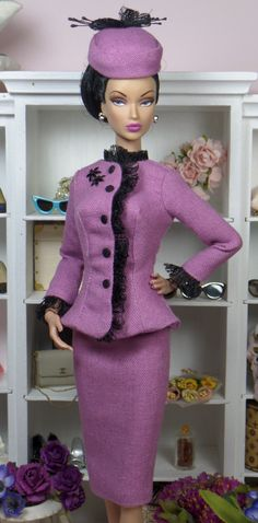 Aberdeen for Silkstone Barbie Victore Roux OOAK Doll Fashion