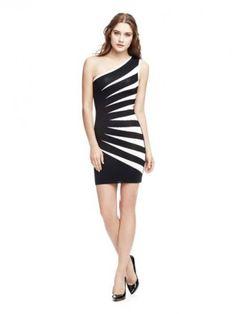 Einschultriges Kleid Marciano