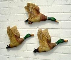 flying ducks wall art - Google Search