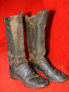 Civil War Era Cavalry Boots 1860s. *s*