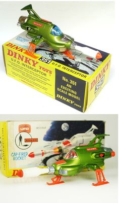 UFO Interceptor and the highlight of playing during the power cuts of the In the darkness of your front room no one can hear you scream. Vintage Toys 1960s, 1960s Toys, Vintage Games, Retro Toys, Childhood Images, 1970s Childhood, Childhood Days, 70s Tv Shows, Sci Fi Models