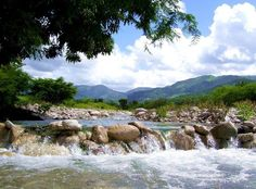 Río Irabón, Saltico del Mango, Azua, R.D.
